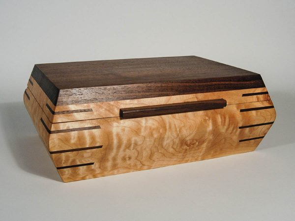 Handmade Humidor Lined With Spanish Cedar