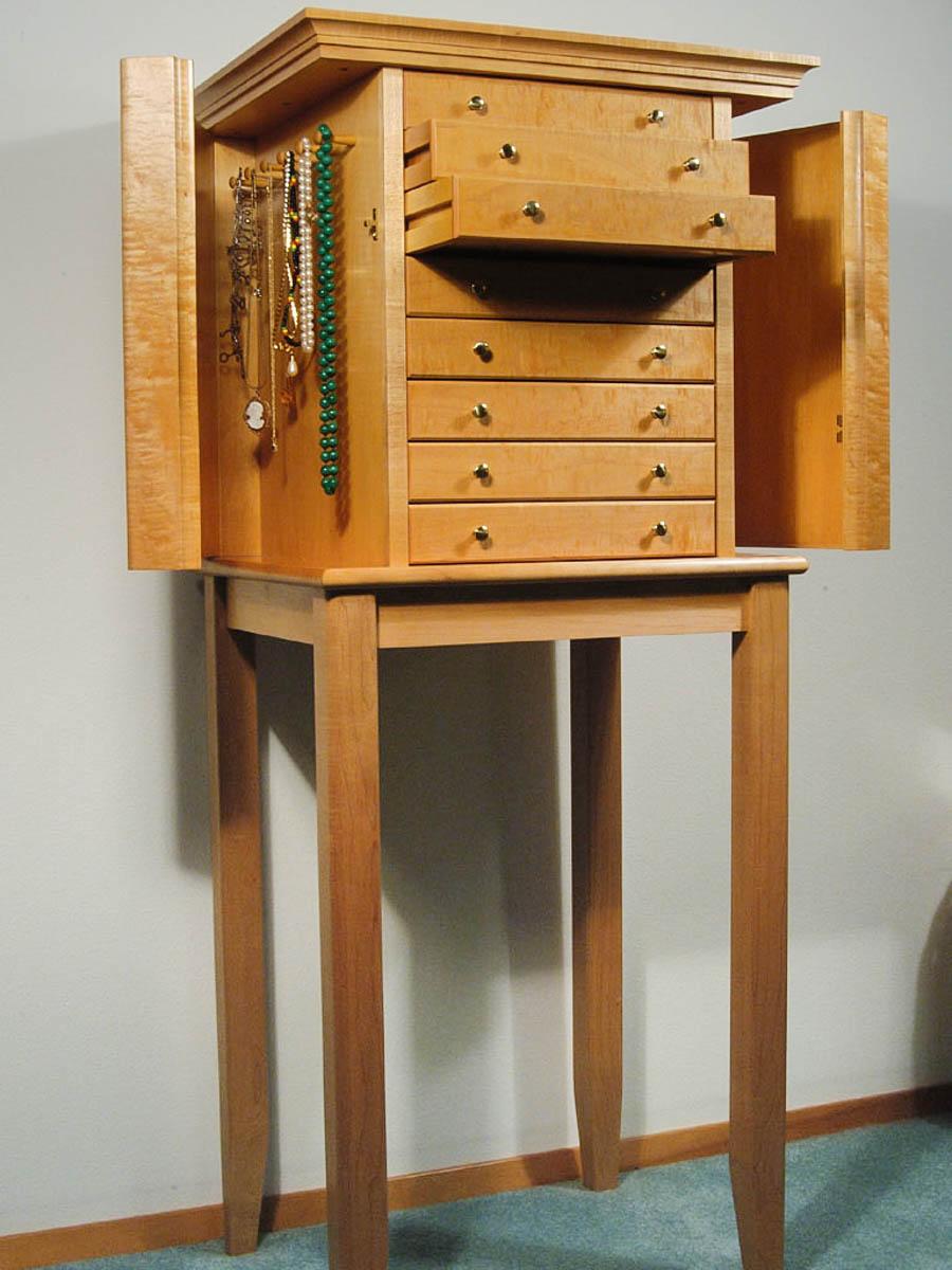 Handmade Self-Standing Jewelry Box