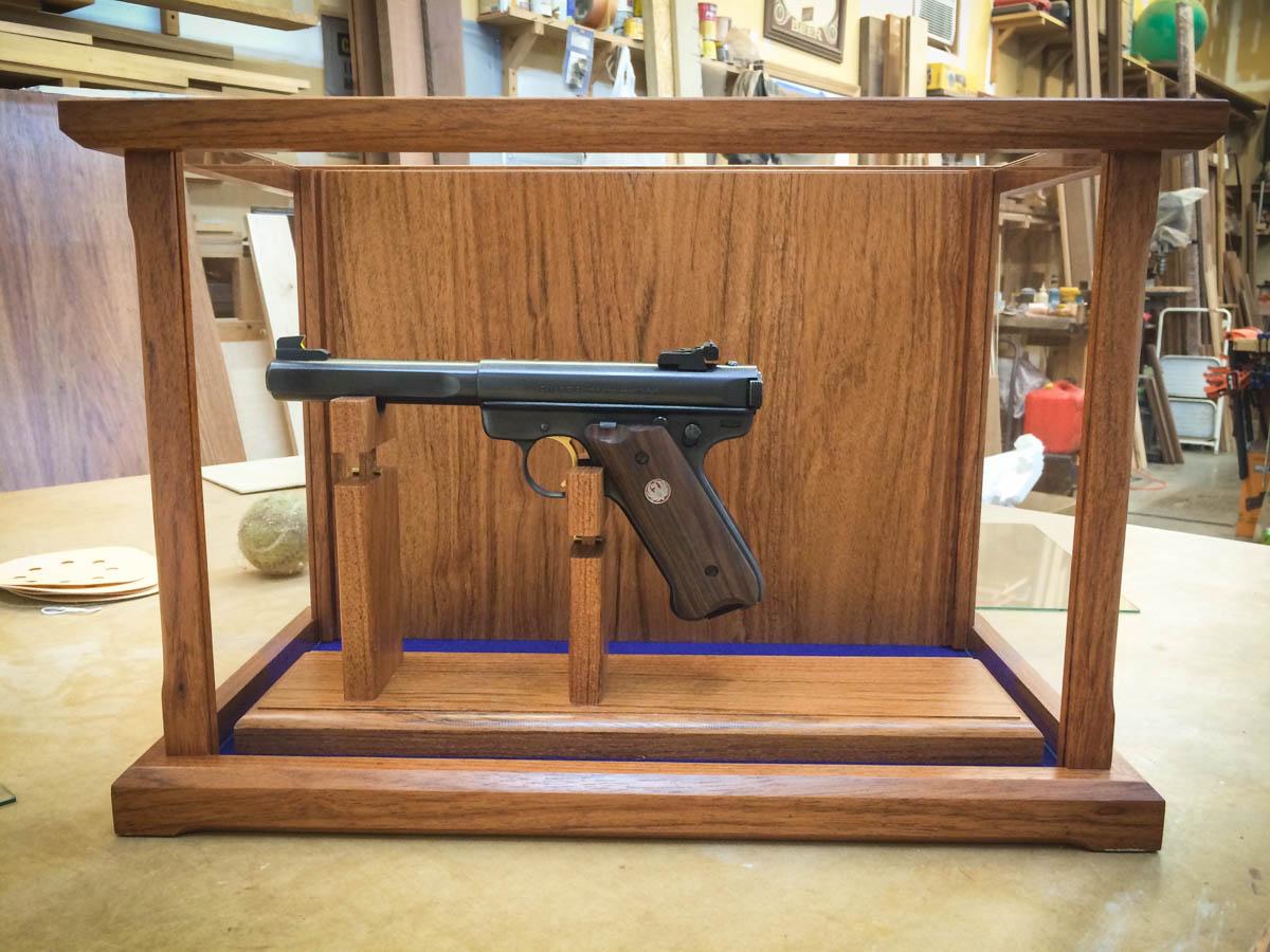 Handmade Rifle / Pistol Display Case