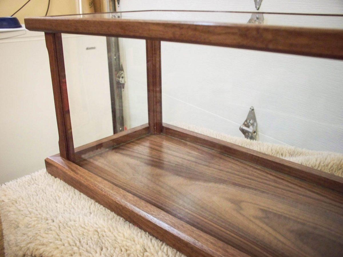 Handmade Display Case for Model Ships, Swords, Rifles