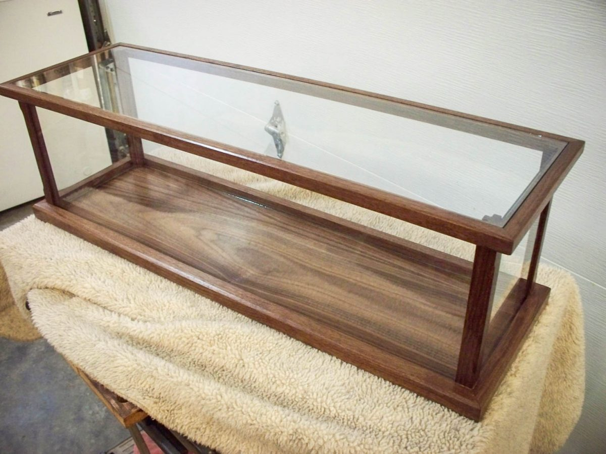 Handmade Display Case for Model Ships, Swords, Rifles