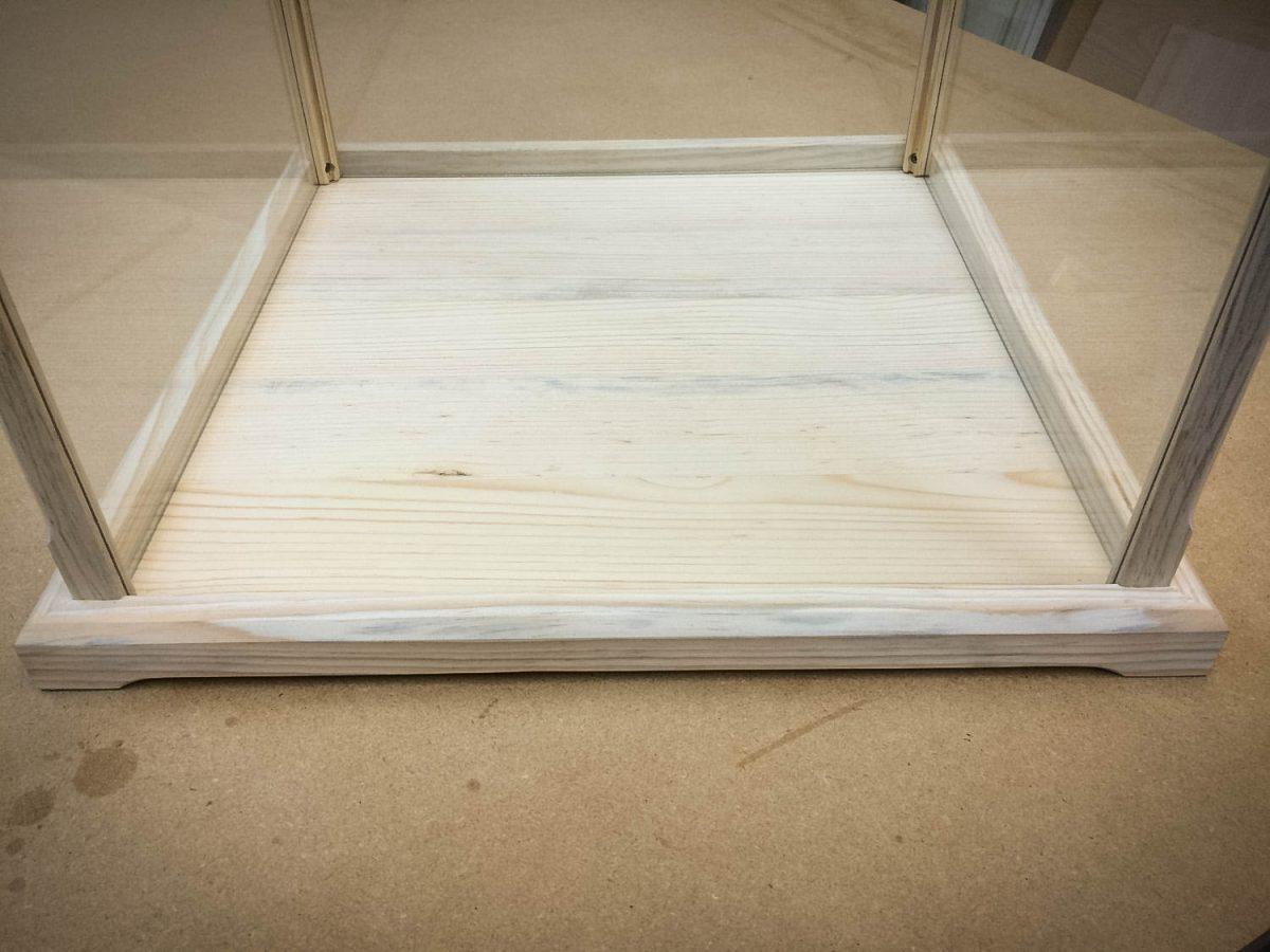 Handmade Deluxe Pine Display Case