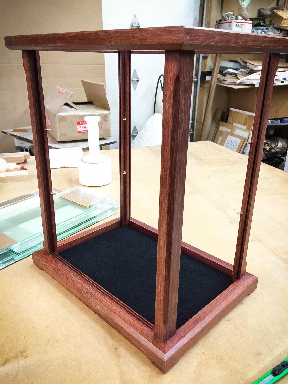 custom Glass display cabinet