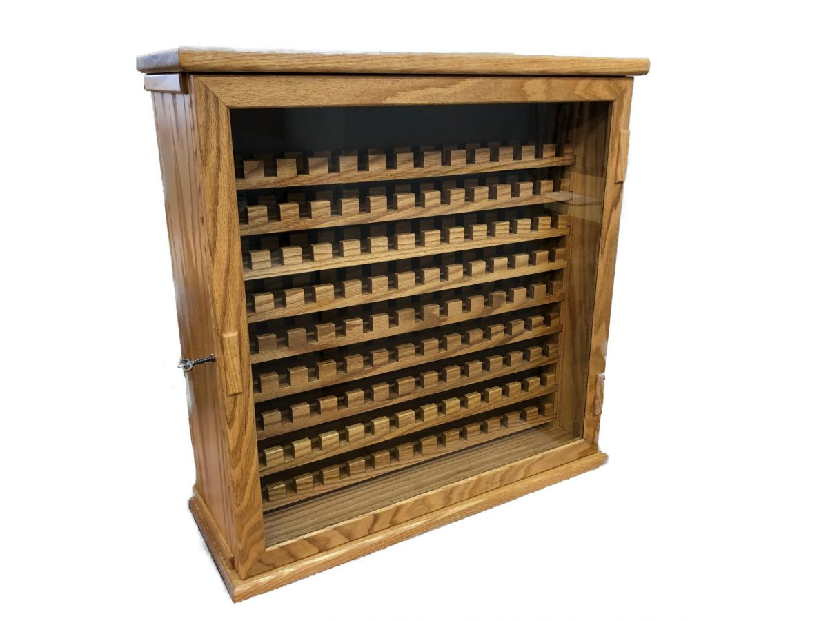 wooden magazine collection case