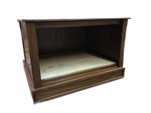 Wooden Display Case for Diorama