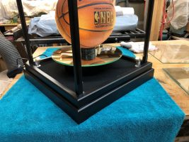 Custom Basketball Display Case